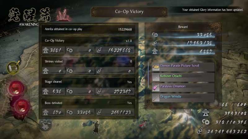 Nioh 2 Glory Guide