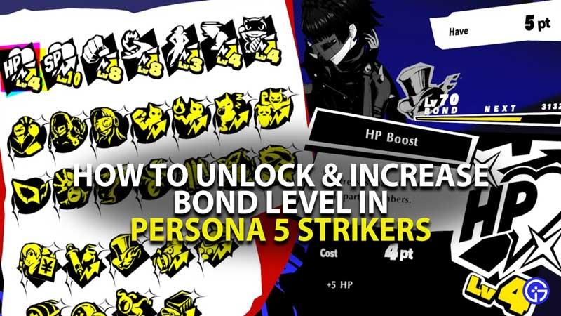 P5 Strikers Bond System Guide