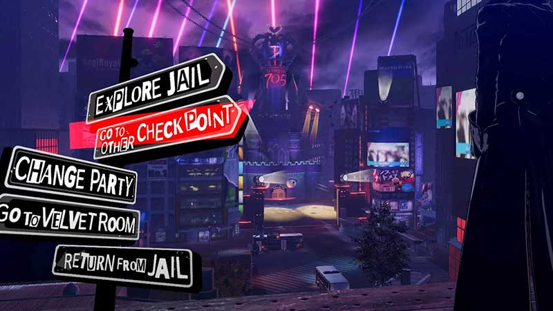 persona 5 strikers jail checkpoints