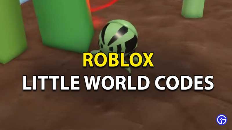 Roblox Little World Codes