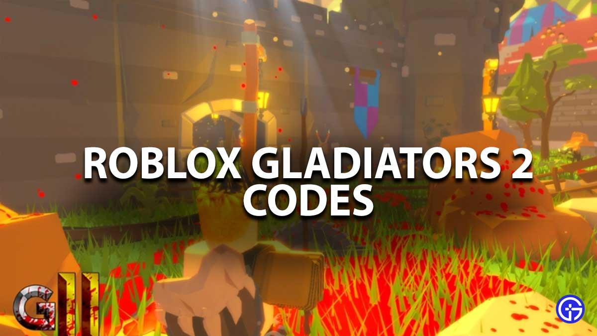 Robox Gladiators 2 Codes