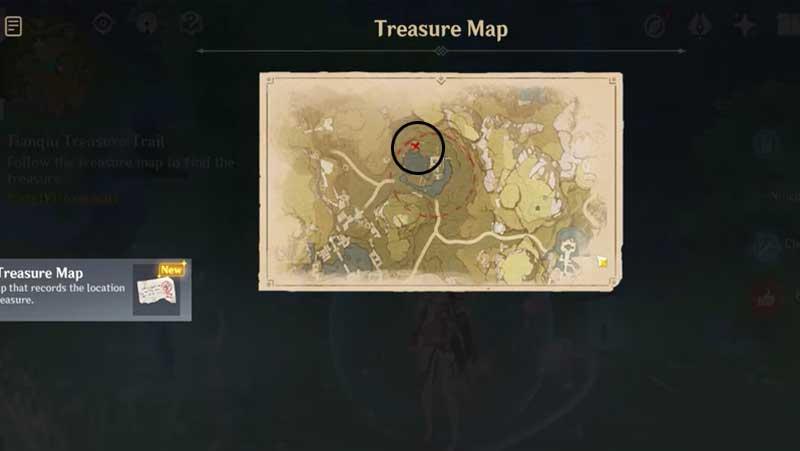 Genshin Impact Tianqiu Treasure Trail Guide
