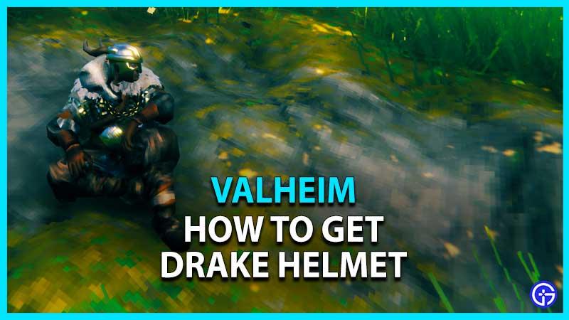 Valheim Drake Helmet