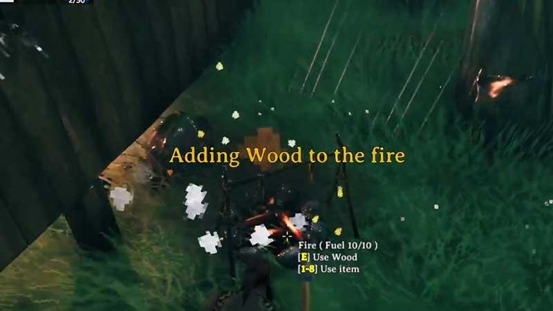 Valheim Fire Goes Out