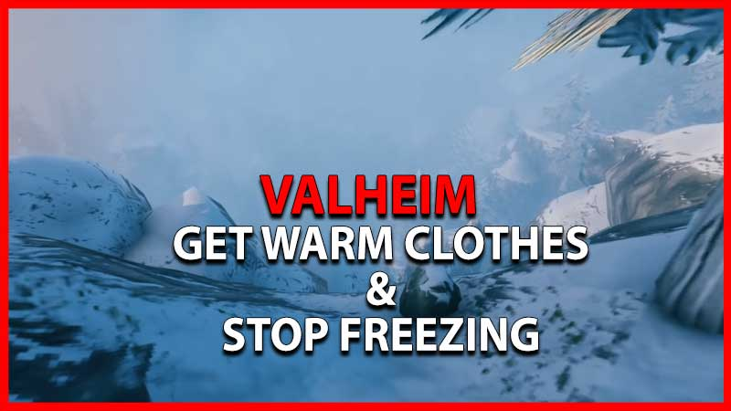 Valheim Get Warm Clothes