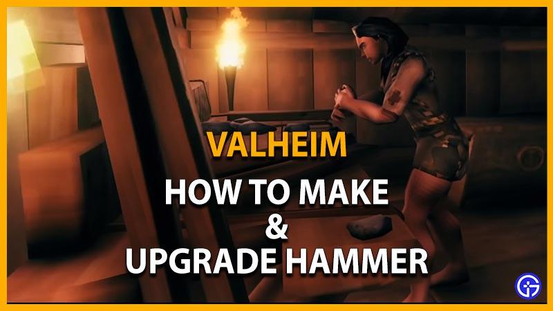 Valheim Hammer
