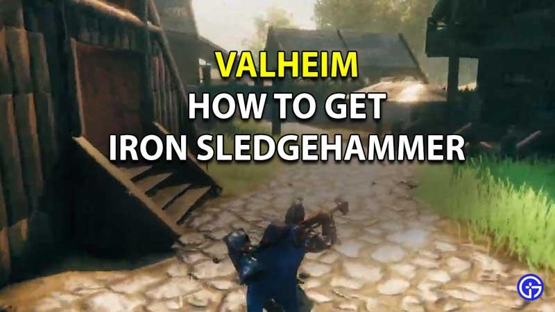 Valheim Iron Sledgehammer