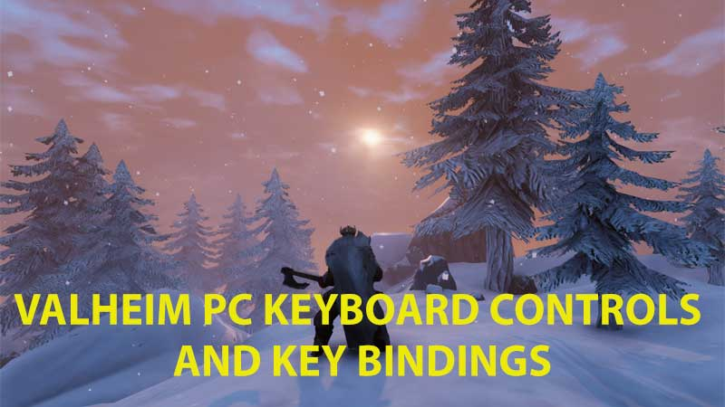 Valheim PC Controls Guide