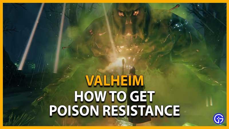 Valheim Poison Resistance