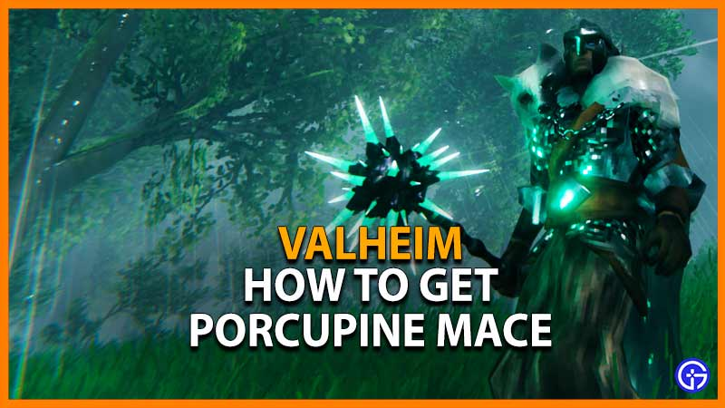 Valheim Porcupine Mace
