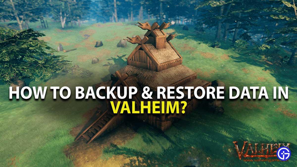 Valheim Restore back Data