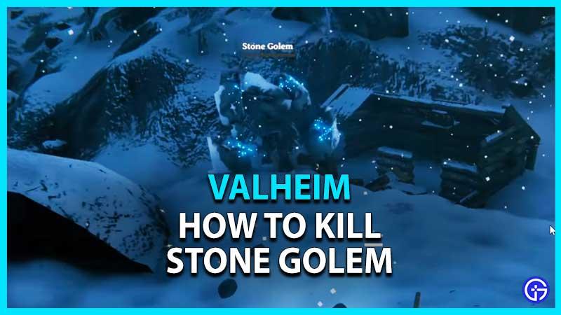 Valheim Stone Golem
