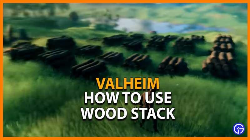 Valheim Wood Stack Wood Pile