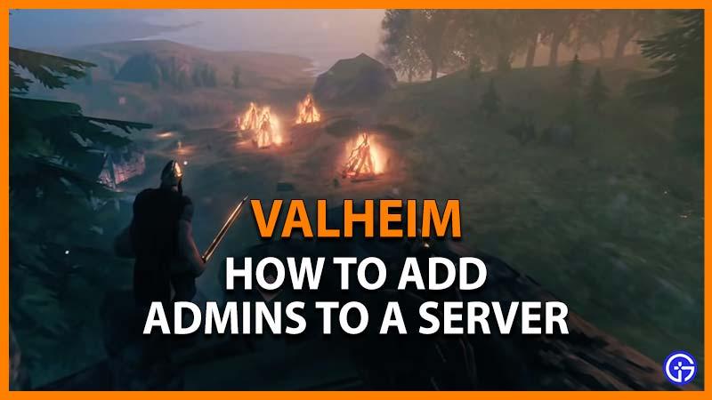 Valheim add admins to server