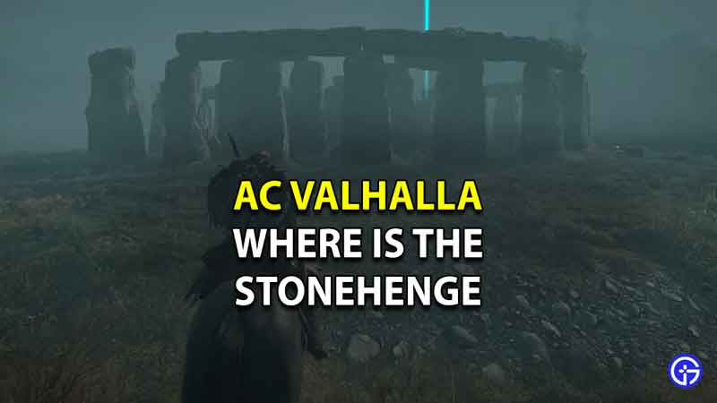 Where to find the Stonehenge in AC Valhalla