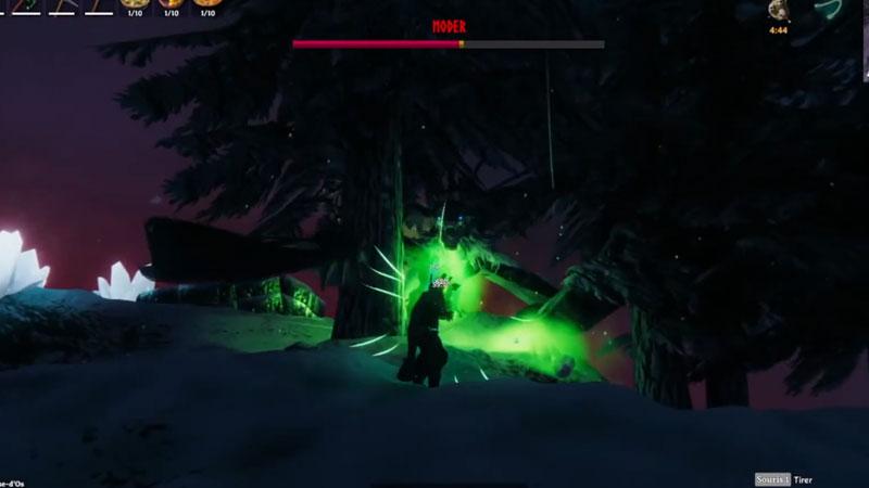 how to beat moder in valheim