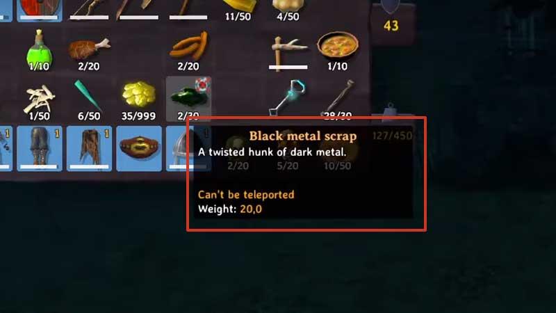 black metal scrap farming