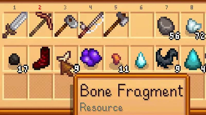 What are Bone Fragments in Stardew Valley?