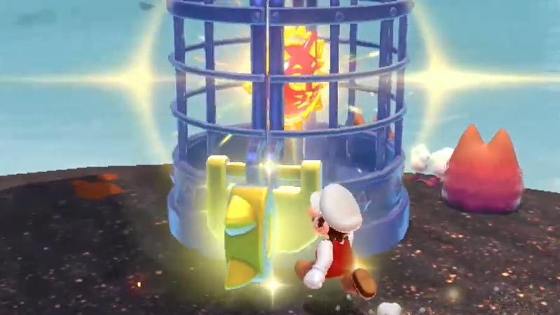 Key to the cat shine in Pipe Path Tower