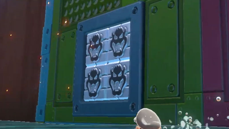 Blast the fury blocks in Pipe Path Tower