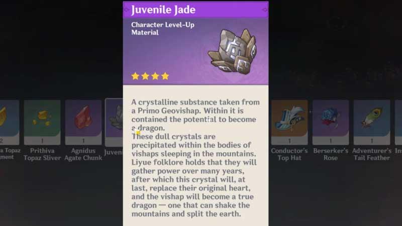 How To Get Juvenile Jade In Genshin Impact