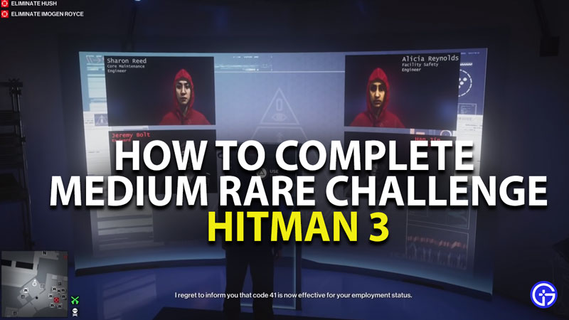 how to complete medium rare challenge in hitman 3