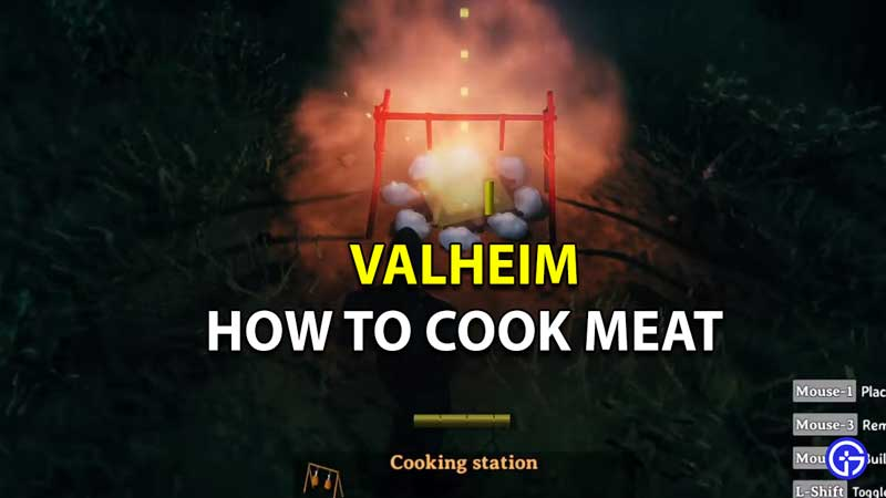 how to cook meat valheim