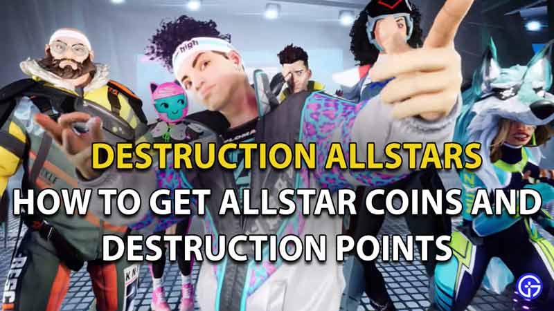 Destruction Points and AllStar Coins