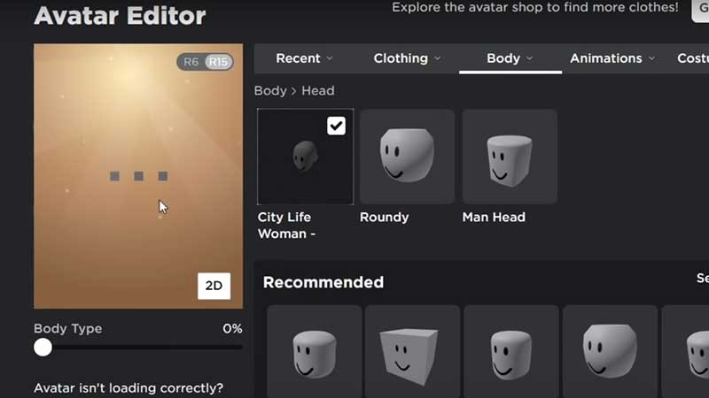 How to Appear Faceless to Other Players in Roblox