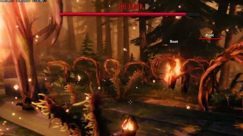how to kill roots elder boss fight