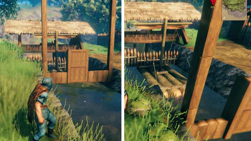 valheim prevent boat from floating away