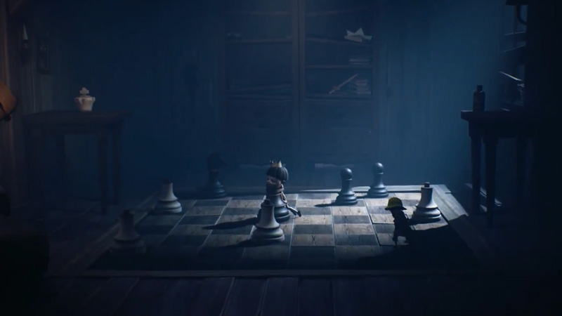Solve the Chess Puzzle in Little Nightmares 2