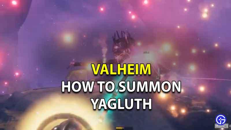 how to summon yagluth valheim