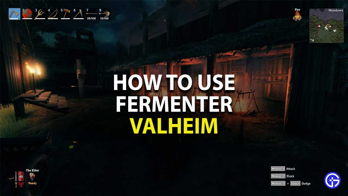 how to use fermenter in valheim