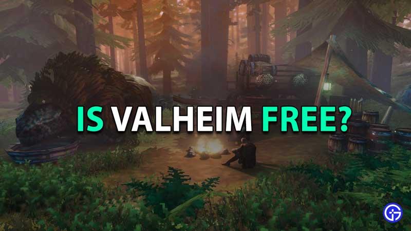 is valheim free