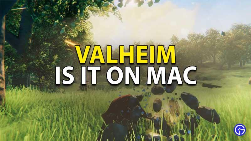 Is Valheim coming on Mac?