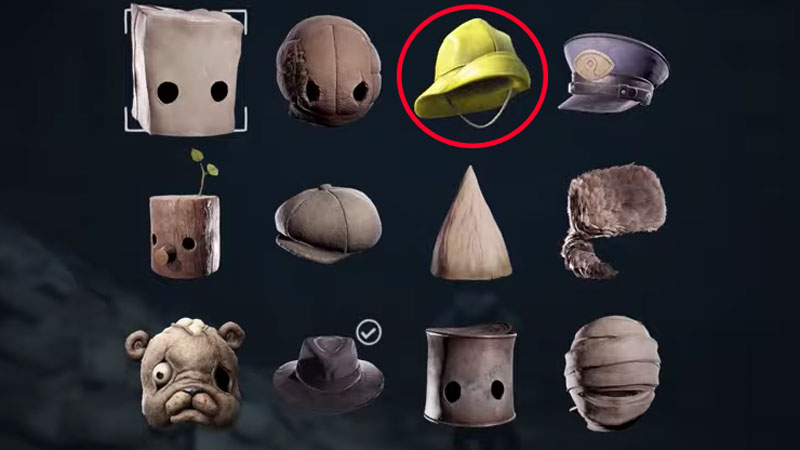 Where to get Yellow Raincoat Hat in Little Nightmares 2