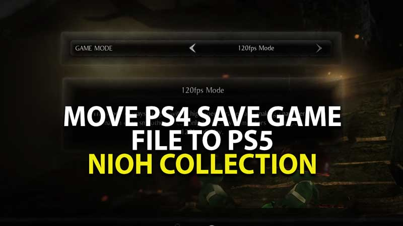 PS5 Nioh Collection Save Game Download