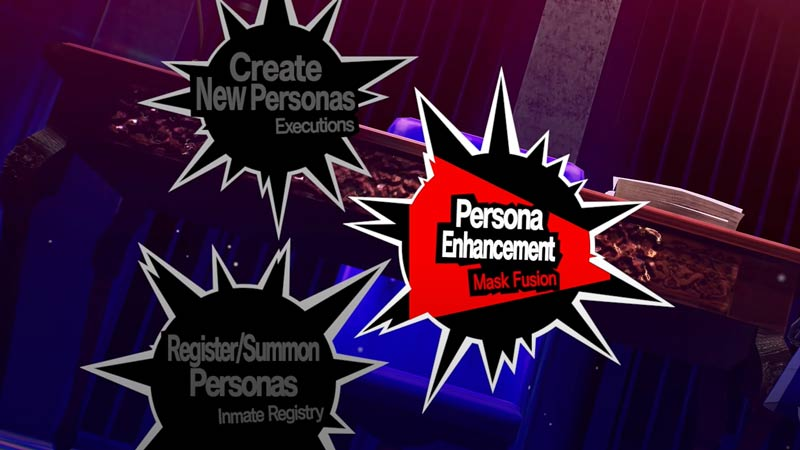 What is the Persona 5 Strikers Enhancement System?