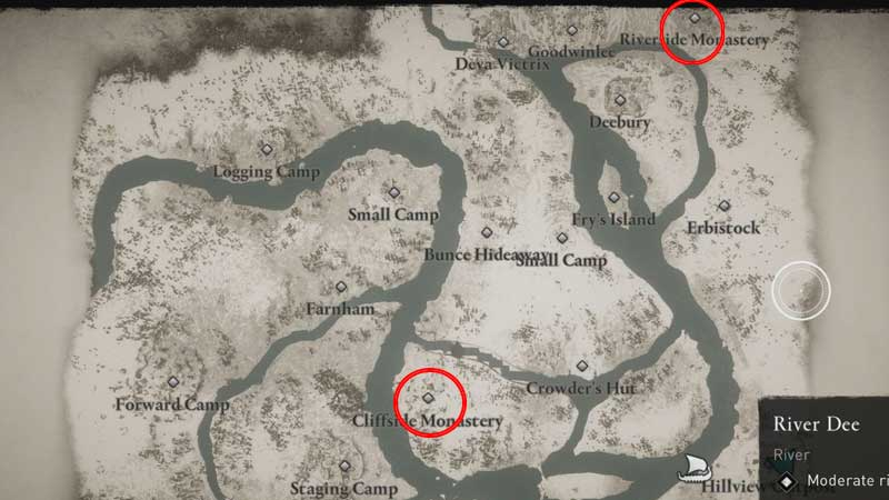 where to find river dee book of knowledge in assassins creed valhalla