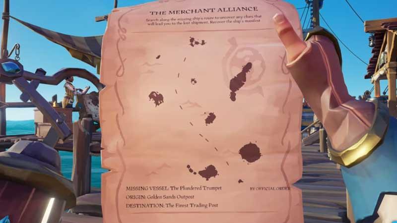 Sea of Thieves Merchant Alliance