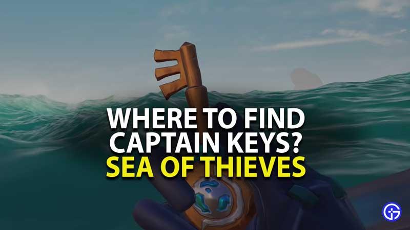 Sea of Thieves Captain Keys