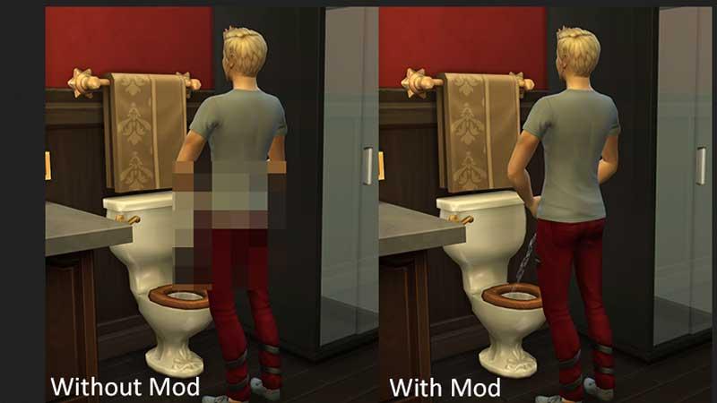 Sims 4 No Mosaic Mod