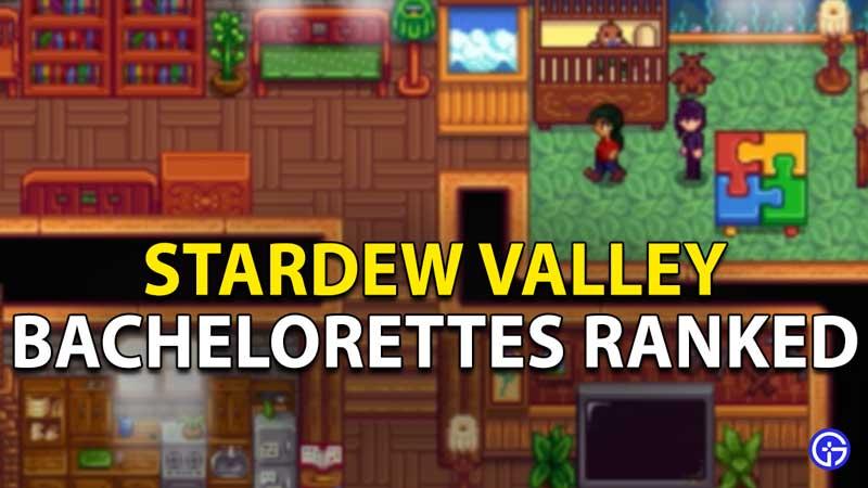 Stardew Valley Bachelorettes Ranked