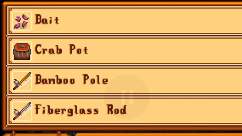 How to make Bait in Stardew Valley