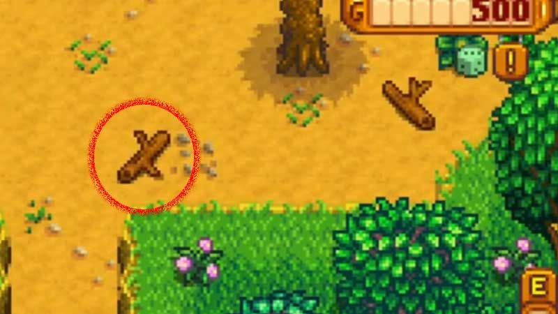 Stardew Valley Hardwood Farming