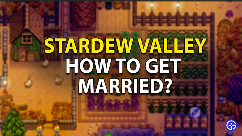 stardew valley how to get married