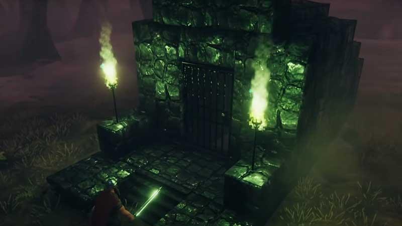 Sunken Crypts dungeon valheim