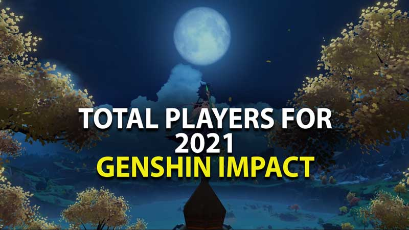 Total Players Genshin Impact 2021