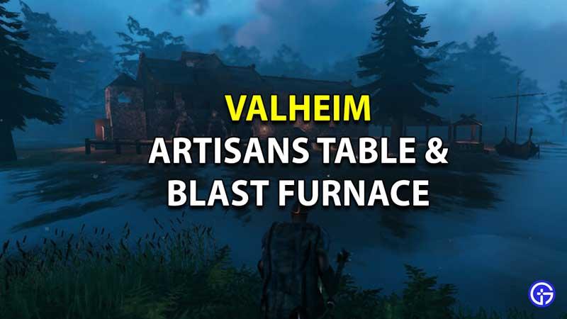 valheim blast furnace artisans table